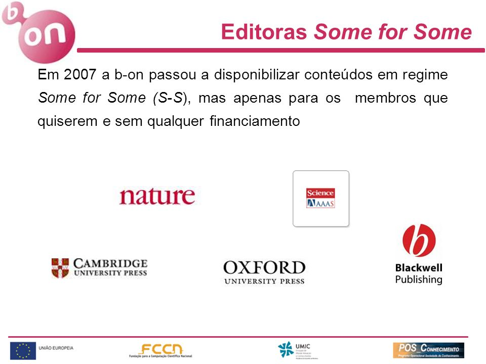 Editoras Some for Some