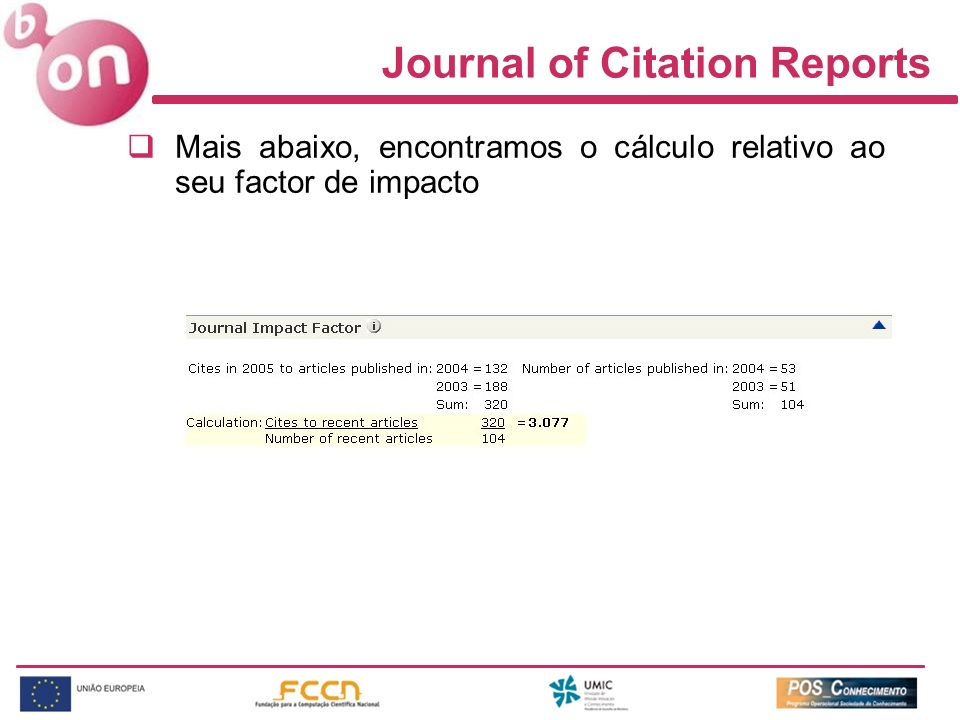 Journal of Citation Reports