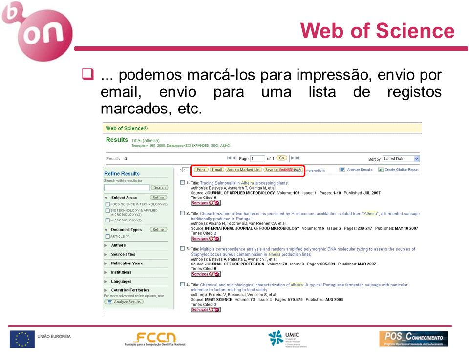 Web of Science...