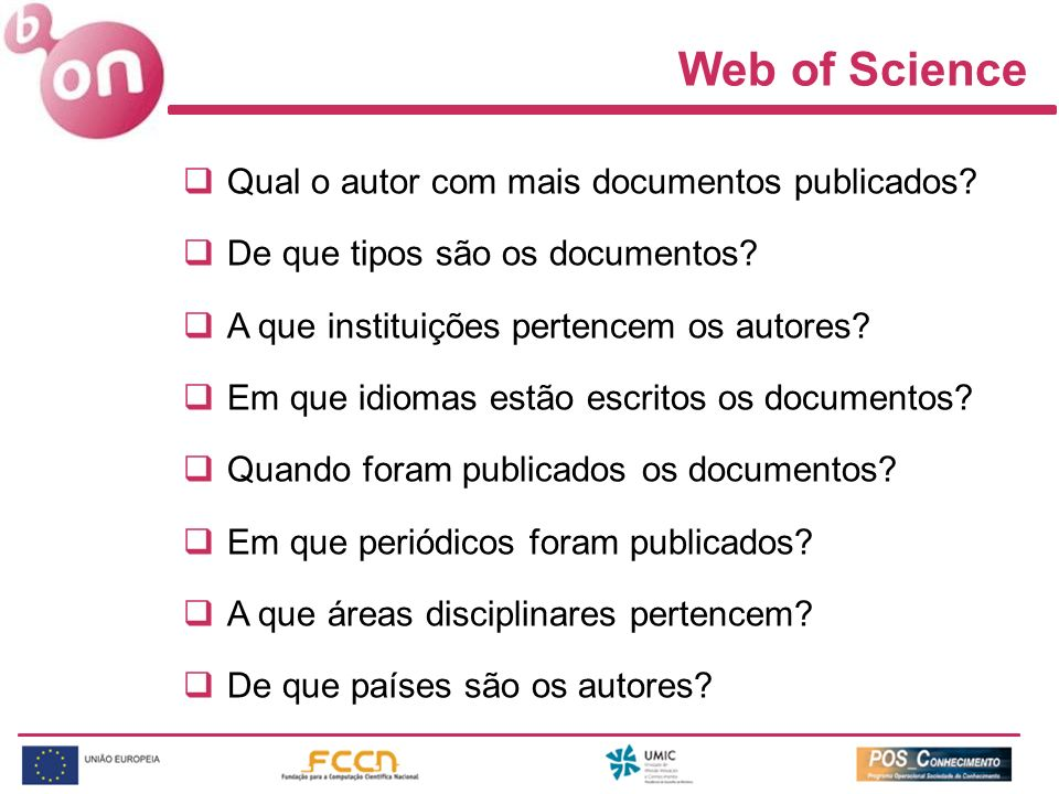 Web of Science Qual o autor com mais documentos publicados