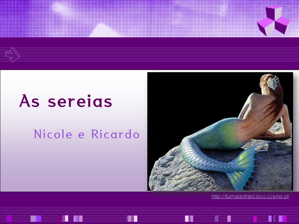 As sereias Nicole e Ricardo