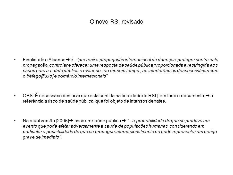 O novo RSI revisado