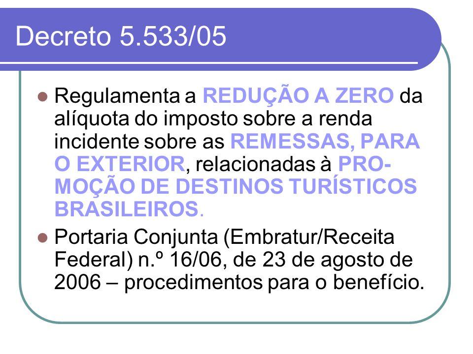 Decreto 5.533/05