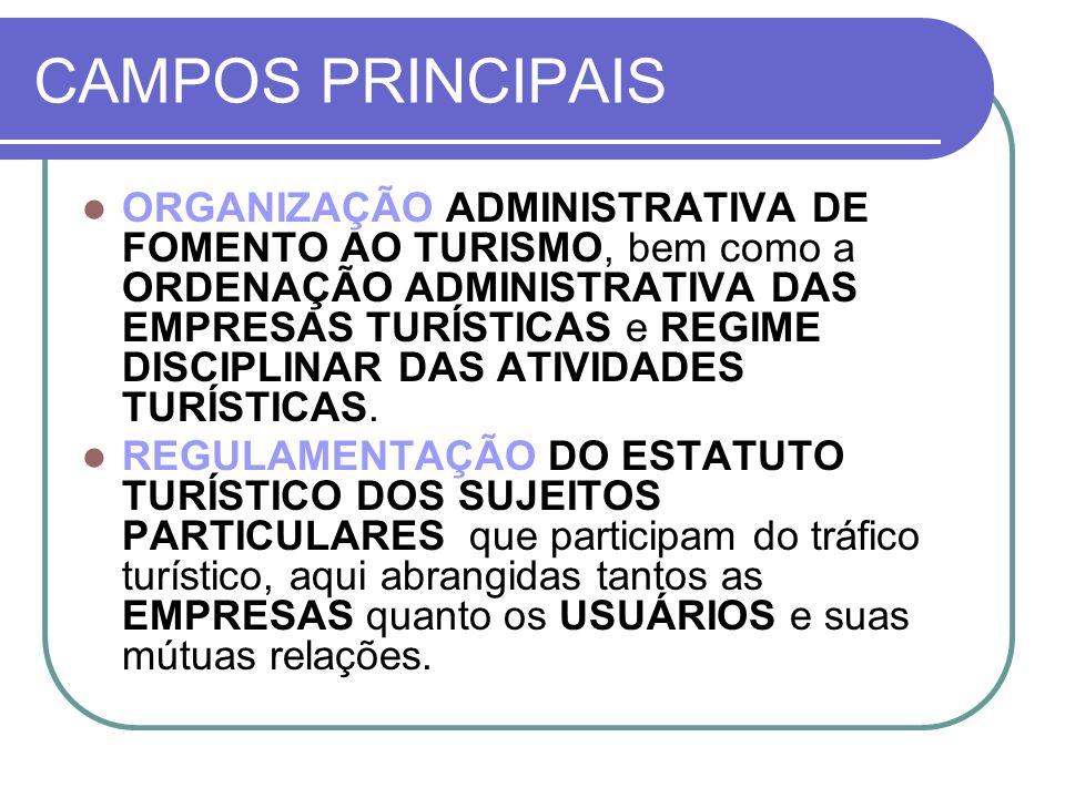 CAMPOS PRINCIPAIS