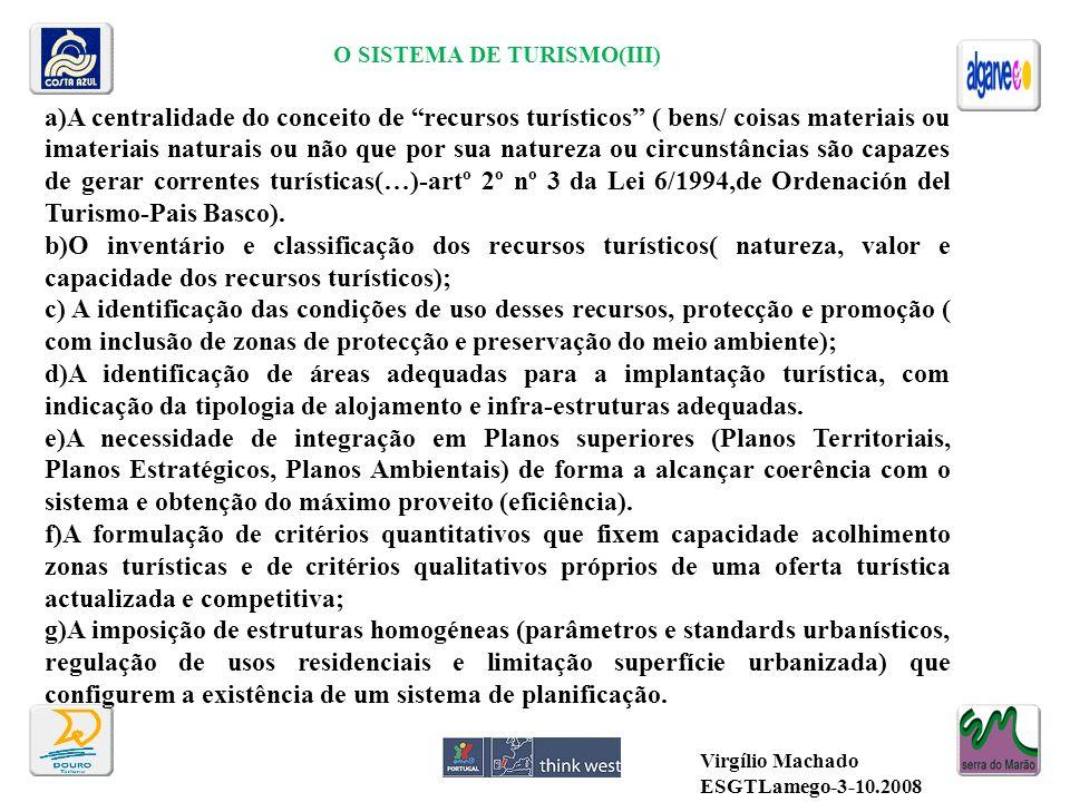 O SISTEMA DE TURISMO(III)