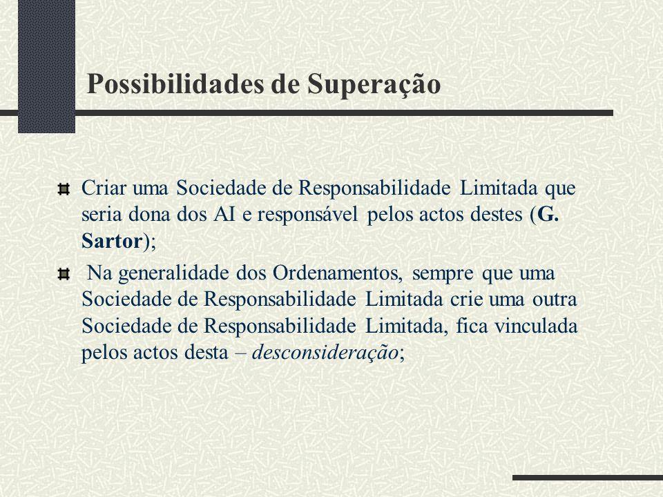 Possibilidades de Superação
