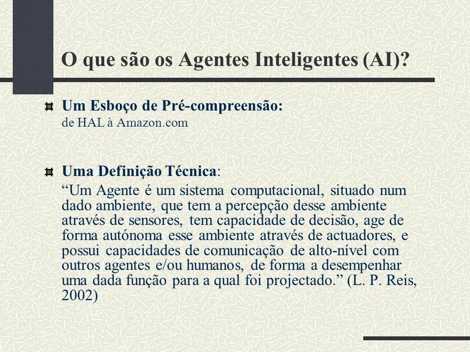 O que são os Agentes Inteligentes (AI)