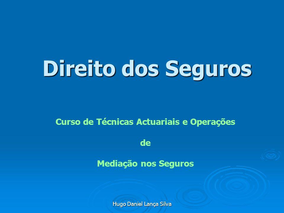 Curso de Técnicas Actuariais e Operações de Mediação nos Seguros