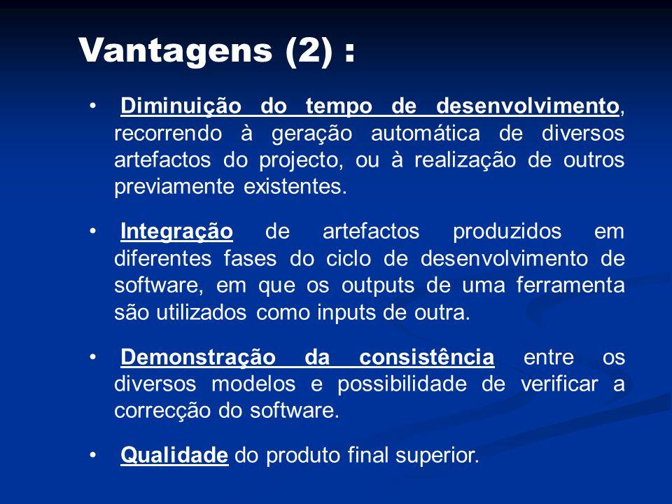 Vantagens (2) :