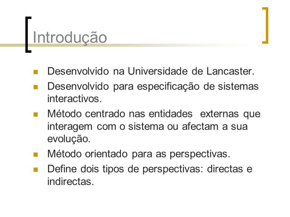 Introdução Desenvolvido na Universidade de Lancaster.