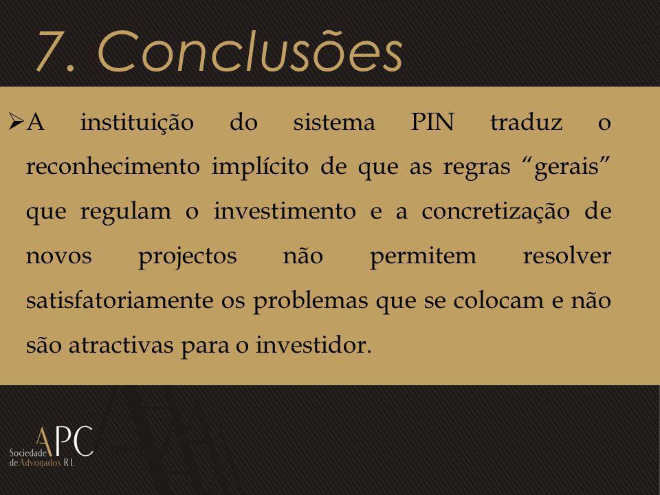 7. Conclusões