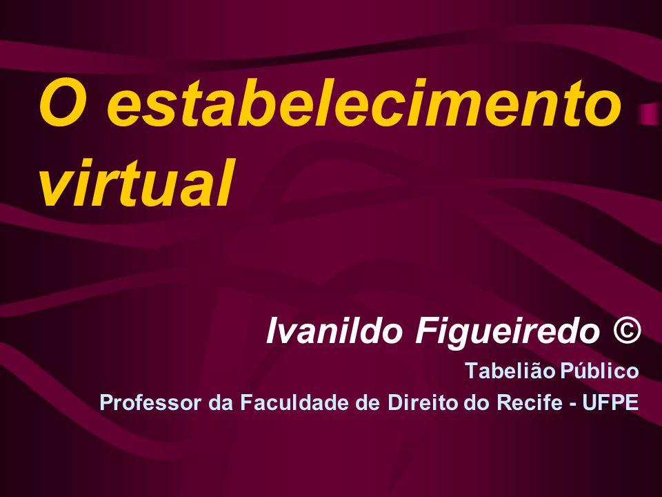O estabelecimento virtual