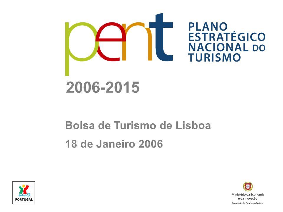 2006-2015 Bolsa de Turismo de Lisboa 18 de Janeiro 2006