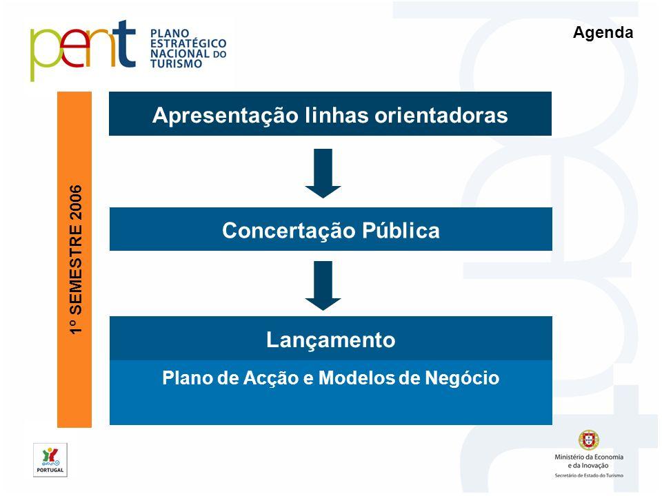 Apresentação linhas orientadoras Plano de Acção e Modelos de Negócio