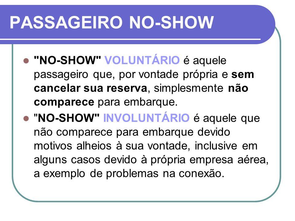 PASSAGEIRO NO-SHOW