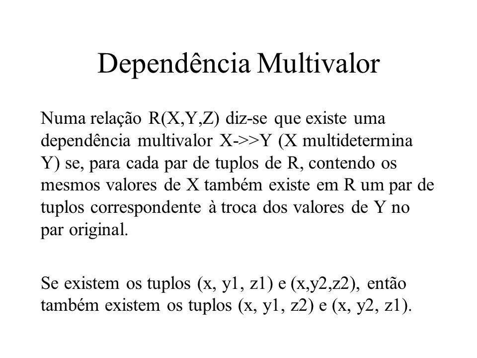 Dependência Multivalor