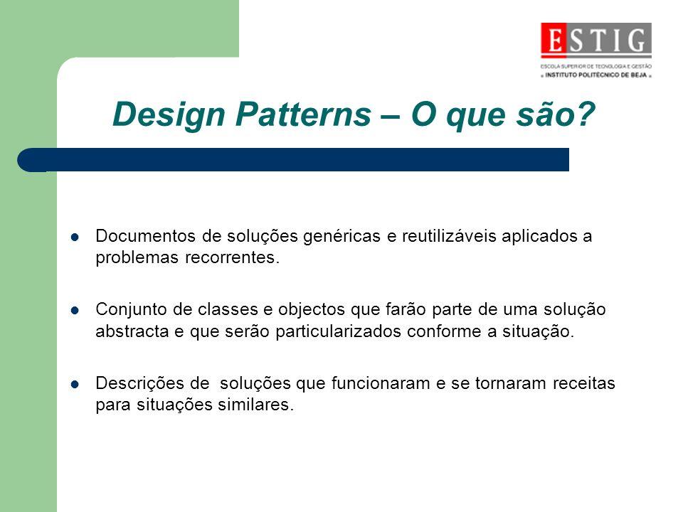 Design Patterns – O que são