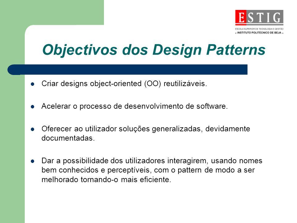 Objectivos dos Design Patterns