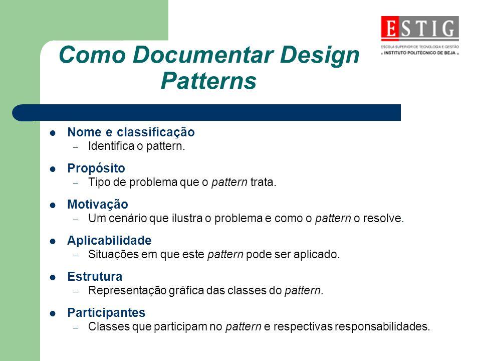 Como Documentar Design Patterns