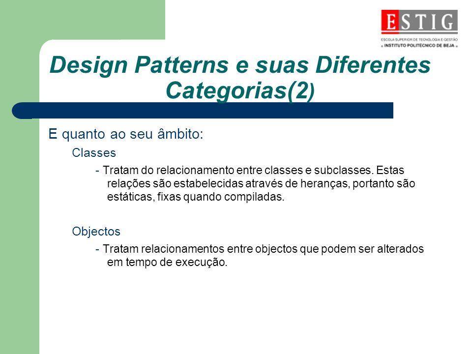 Design Patterns e suas Diferentes Categorias(2)