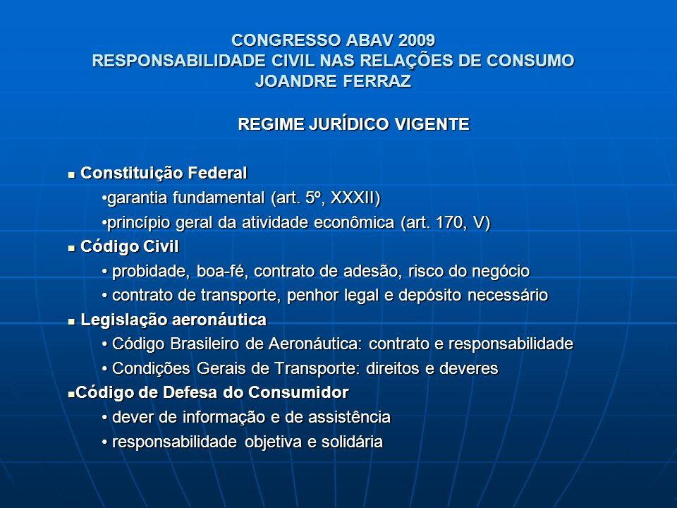 REGIME JURÍDICO VIGENTE