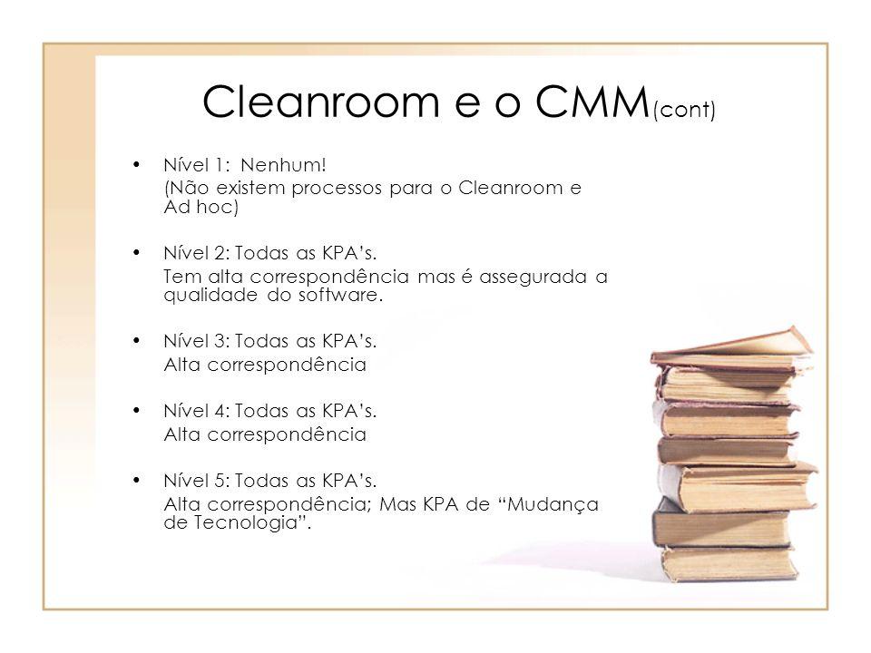 Cleanroom e o CMM(cont)