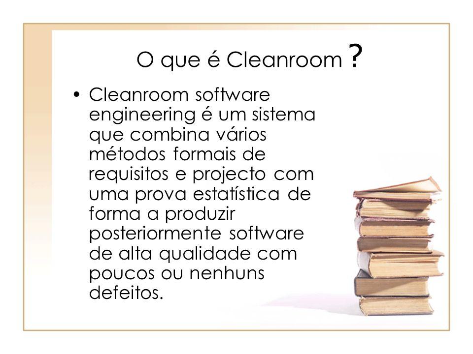 O que é Cleanroom