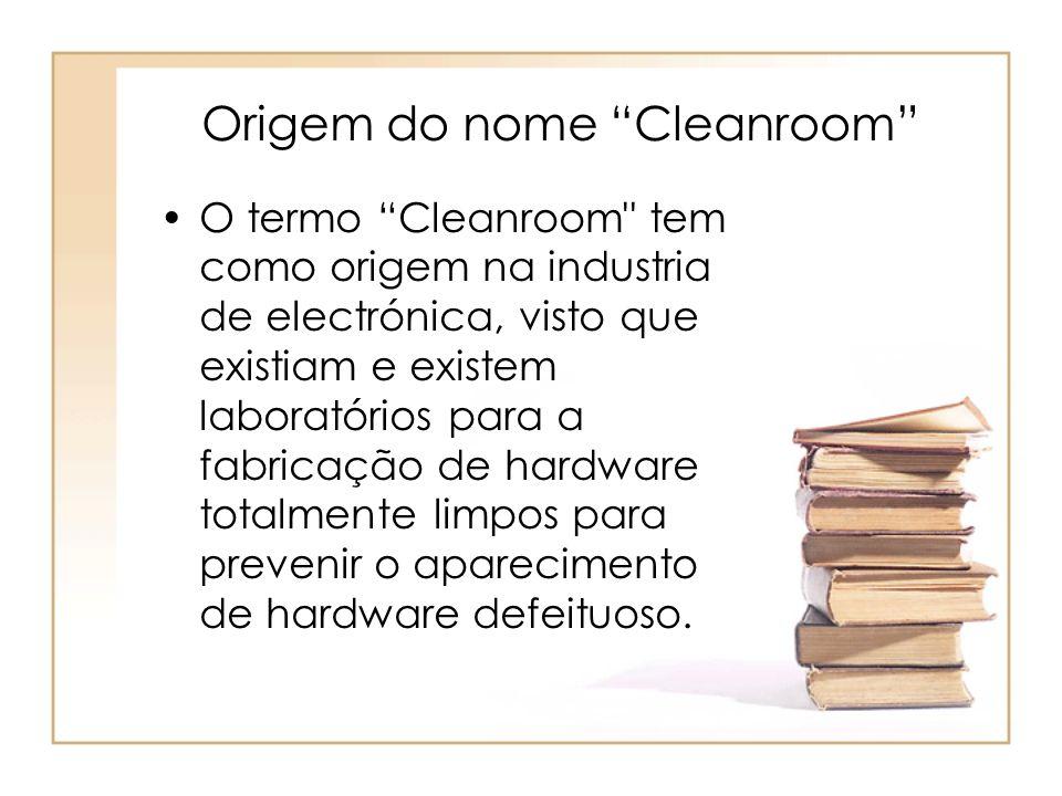 Origem do nome Cleanroom