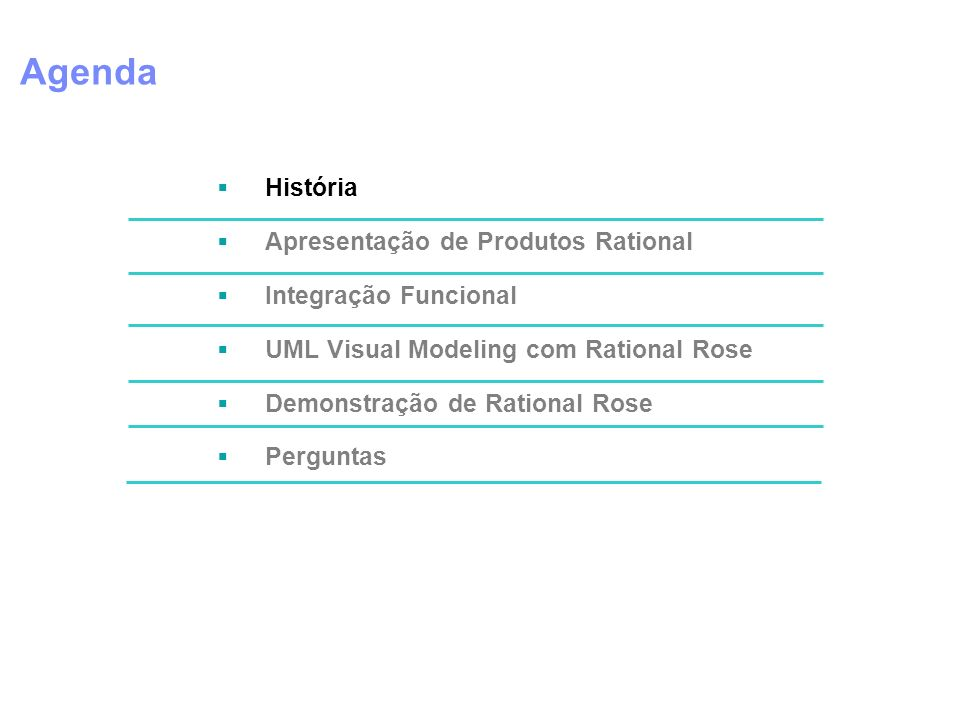 Agenda Speaker Support Notes História
