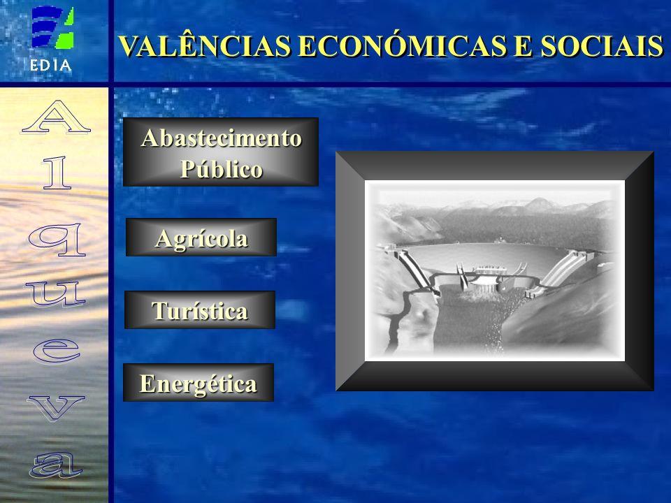 VALÊNCIAS ECONÓMICAS E SOCIAIS