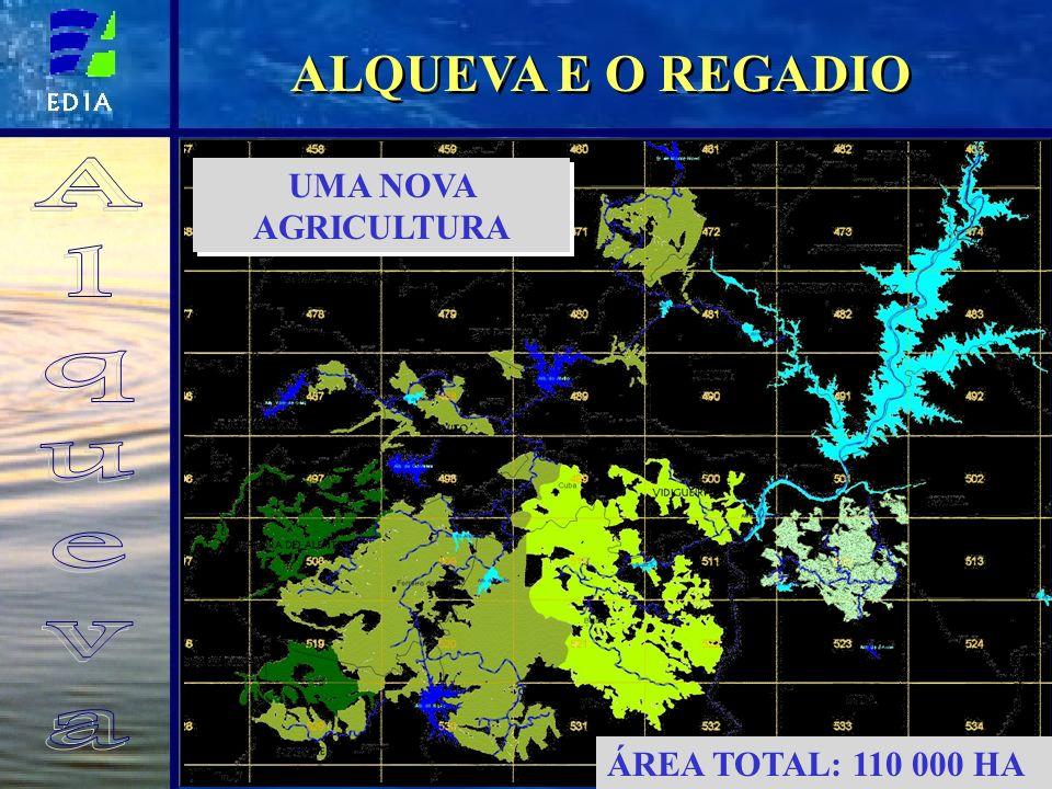 ALQUEVA E O REGADIO Alqueva UMA NOVA AGRICULTURA