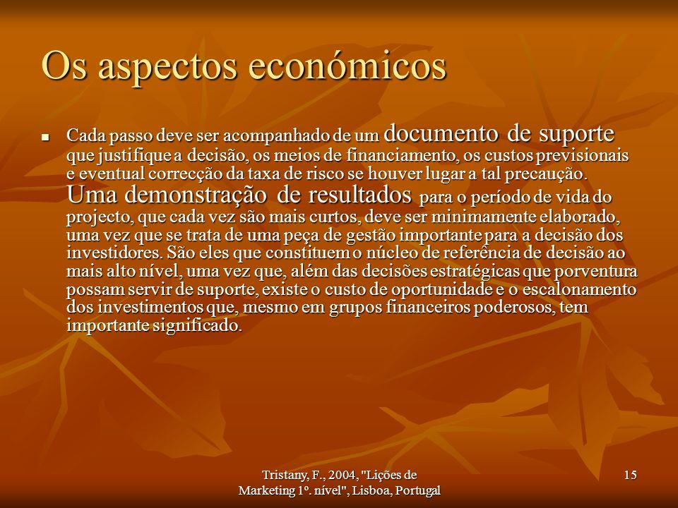 Os aspectos económicos