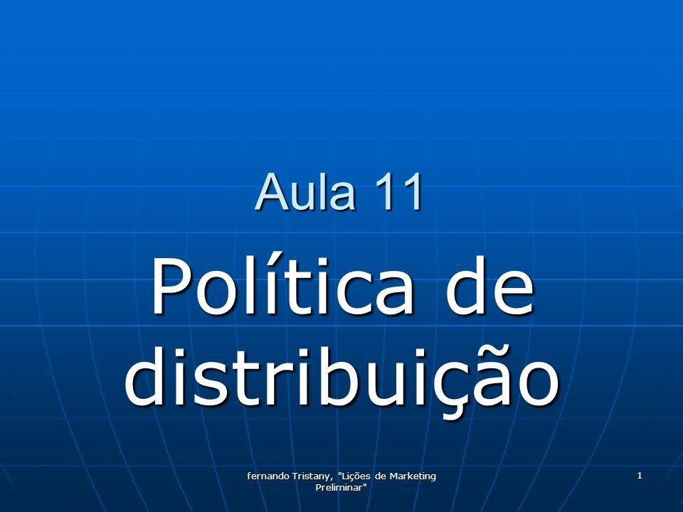 Política de distribuição