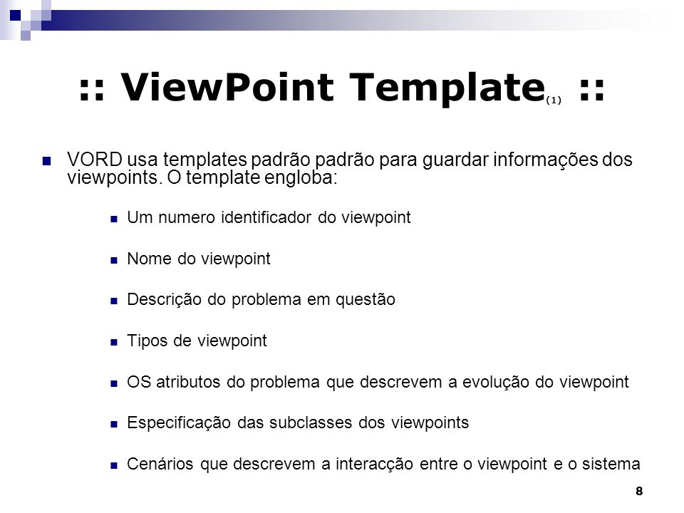 :: ViewPoint Template(1) ::