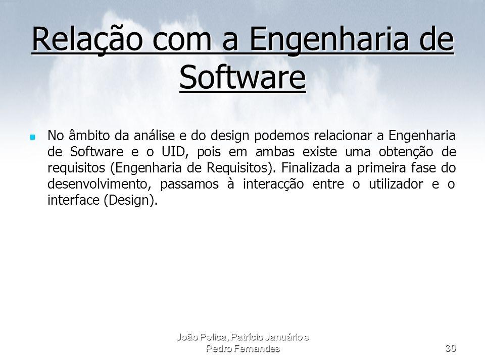 Relação com a Engenharia de Software