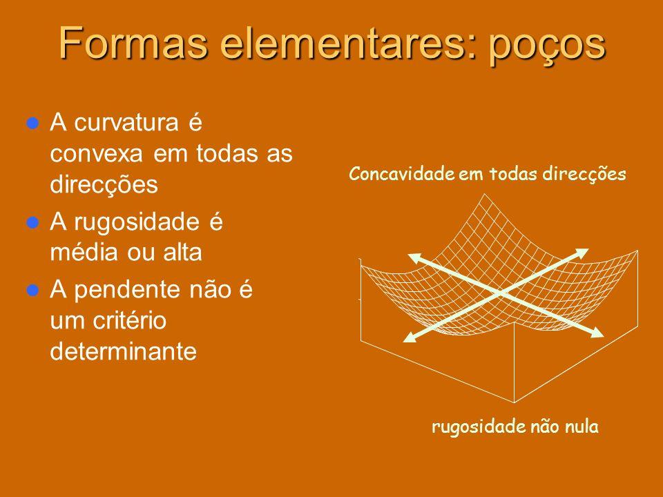 Formas elementares: poços