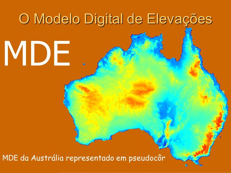 O Modelo Digital de Elevações