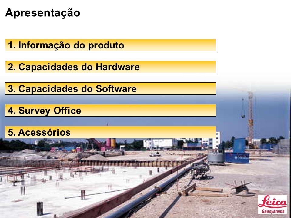 Apresentação 1. Informação do produto 2. Capacidades do Hardware