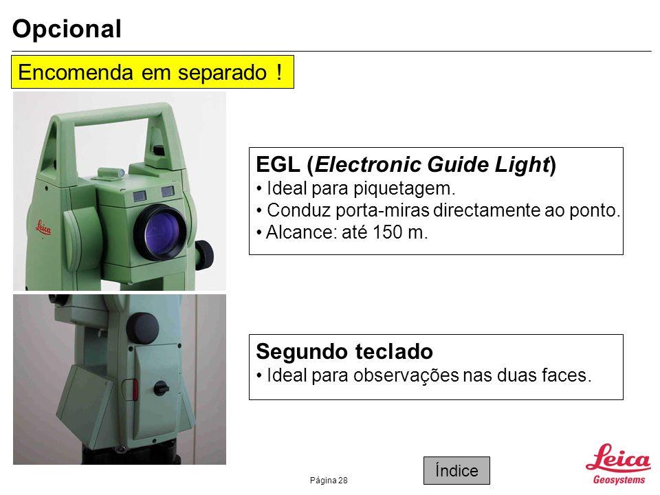 Opcional Encomenda em separado ! EGL (Electronic Guide Light)