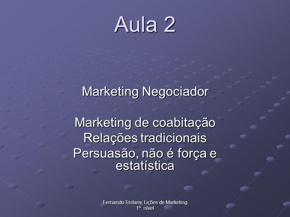 Aula 2 Marketing Negociador Marketing de coabitação