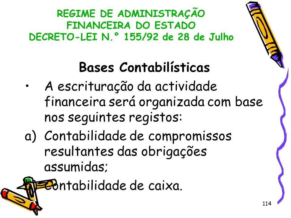 Bases Contabilísticas