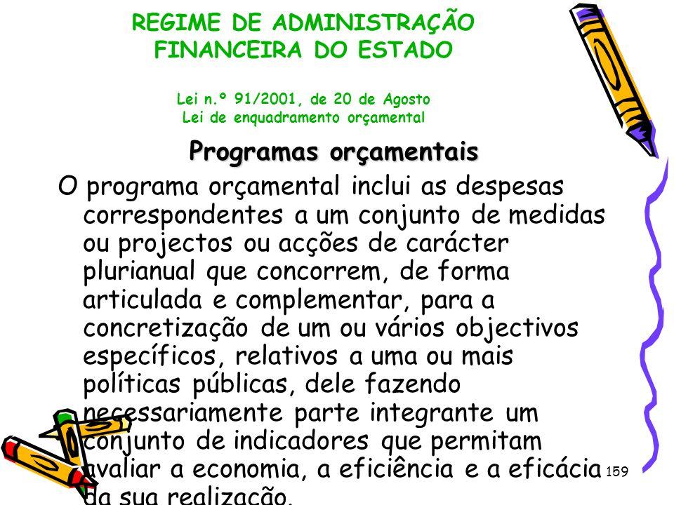 Programas orçamentais