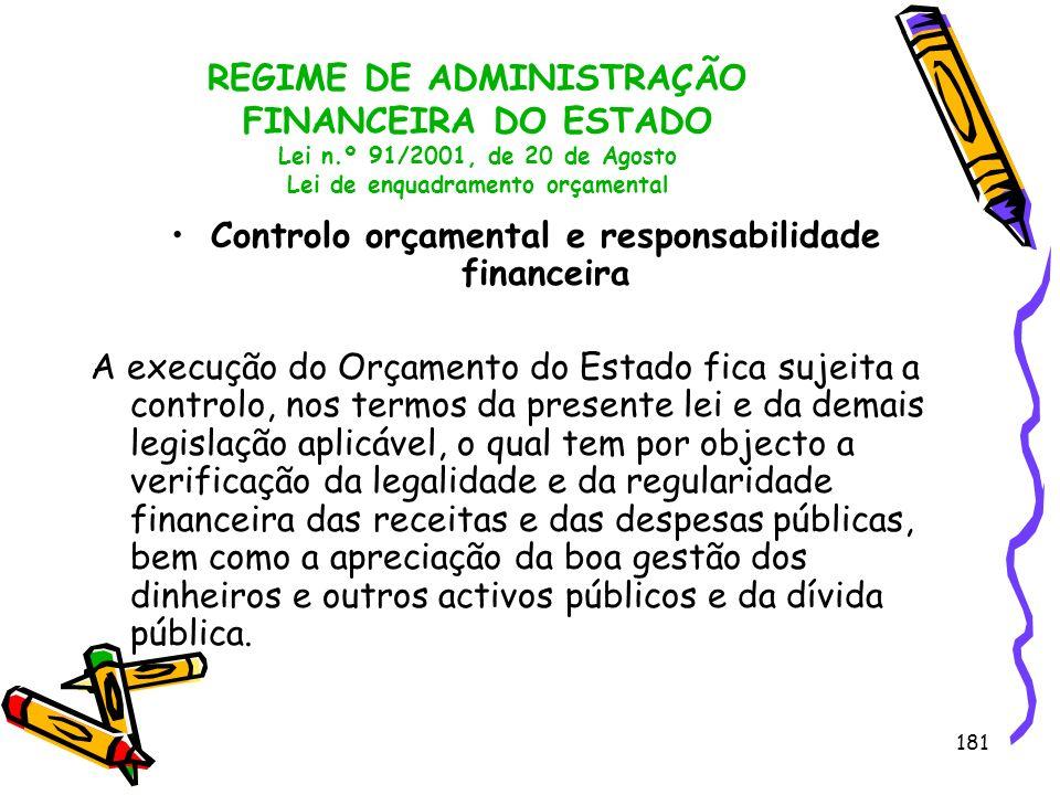 Controlo orçamental e responsabilidade financeira
