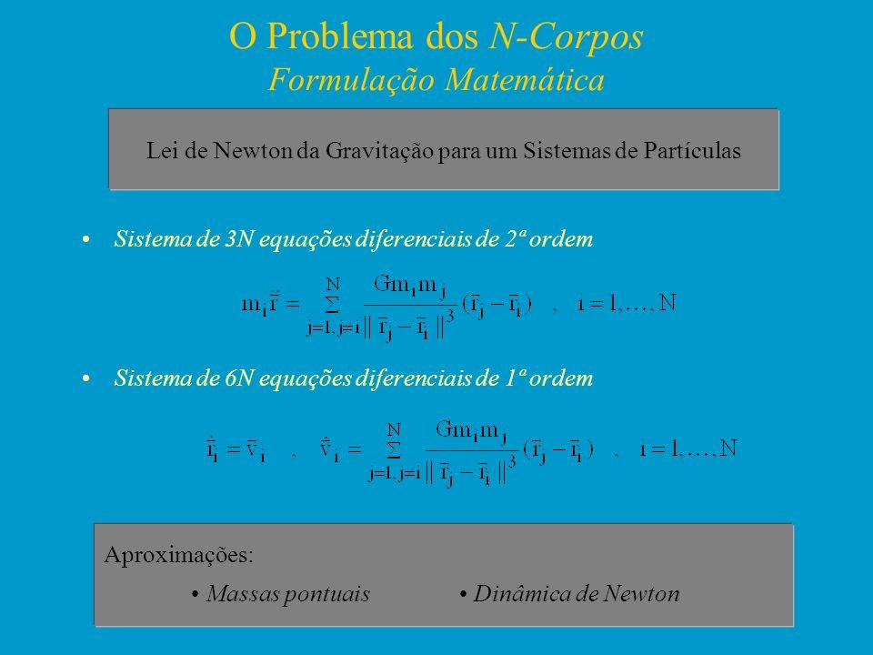 O Problema dos N-Corpos Formulação Matemática
