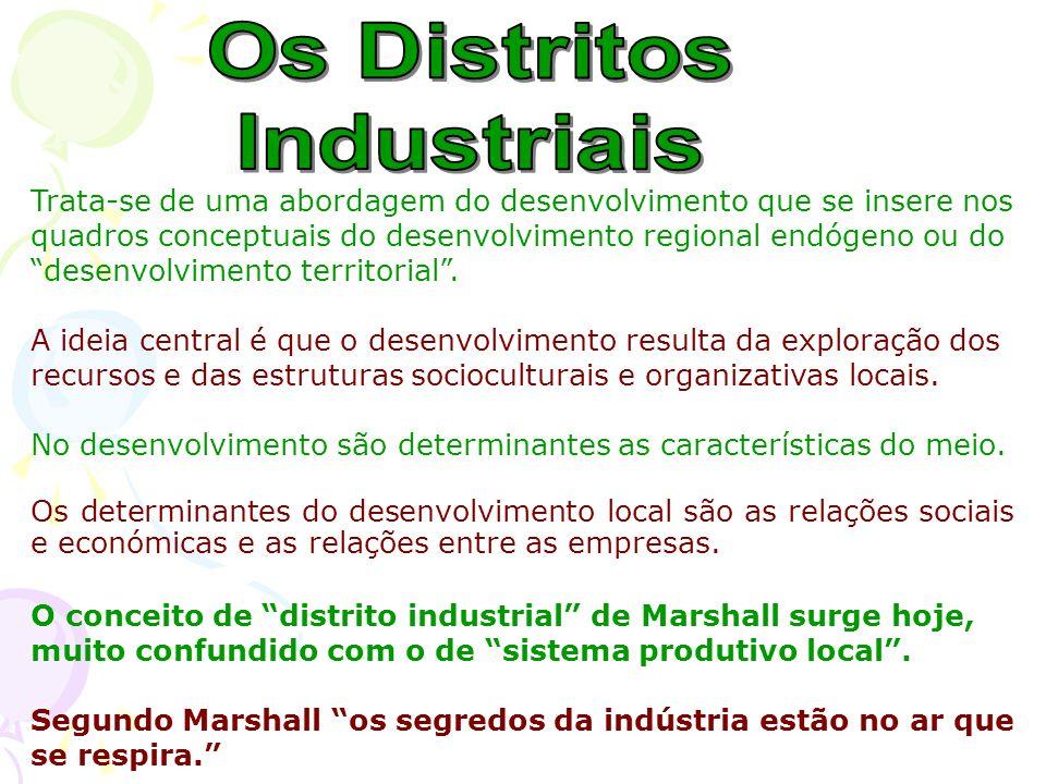 Os Distritos Industriais