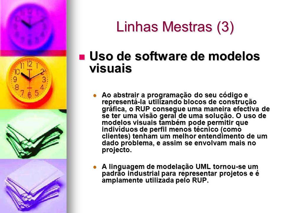 Linhas Mestras (3) Uso de software de modelos visuais