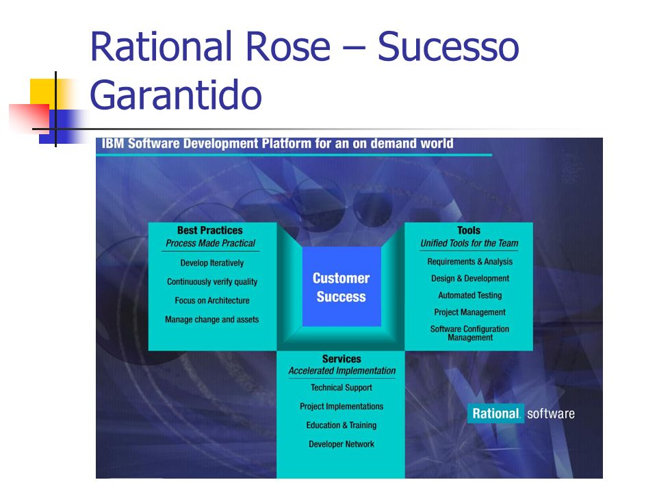 Rational Rose – Sucesso Garantido