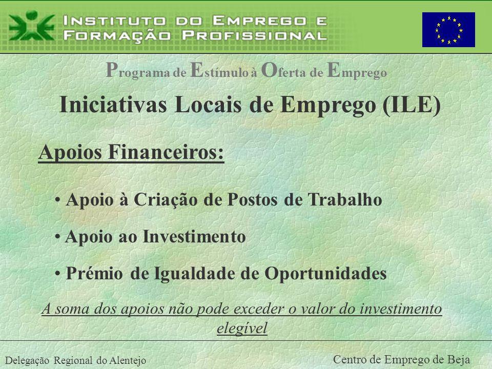 Iniciativas Locais de Emprego (ILE)
