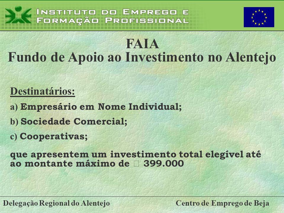 Fundo de Apoio ao Investimento no Alentejo