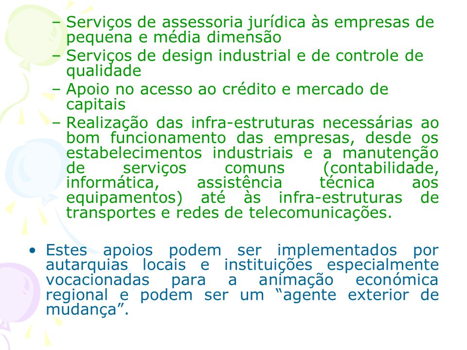 Serviços de assessoria jurídica às empresas de pequena e média dimensão